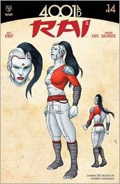Rai #14 Cover - Guinaldo Design Variant