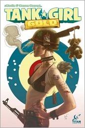 Tank Girl: Gold #1 Cover B - Black Frog