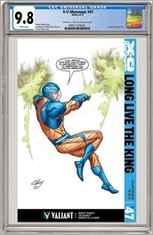 X-O Manowar #47 Cover - Henry CGC Variant