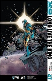 X-O Manowar #47 Cover - Lafuente Variant