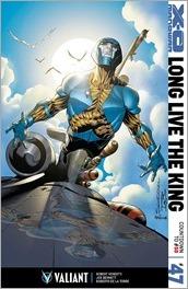 X-O Manowar #47 Cover - Sandoval Variant