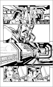 X-O MANOWAR #48 – Interior Art by Joe Bennett with Marcio Loerzer