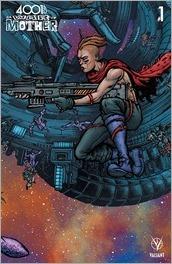 4001 A.D.: War Mother #1 Cover - Lee Mega Cover Variant