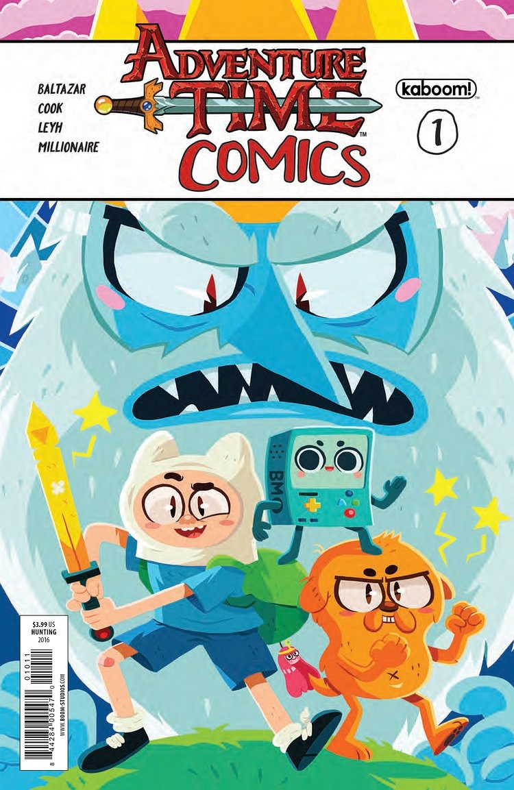 Preview Of Adventure Time Comics 1 Kaboom