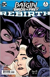 Batgirl and The Birds of Prey: Rebirth #1 Cover A