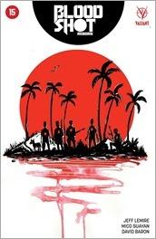 Bloodshot Reborn #15 Cover - Lemire Variant