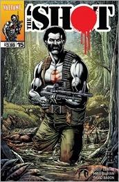 Bloodshot Reborn #15 Cover - Robertson Variant