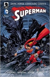 The Dark Horse Comics/DC: Superman TPB Cover