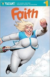 Faith #1 (Ongoing) Cover - Perez Interlocking Variant