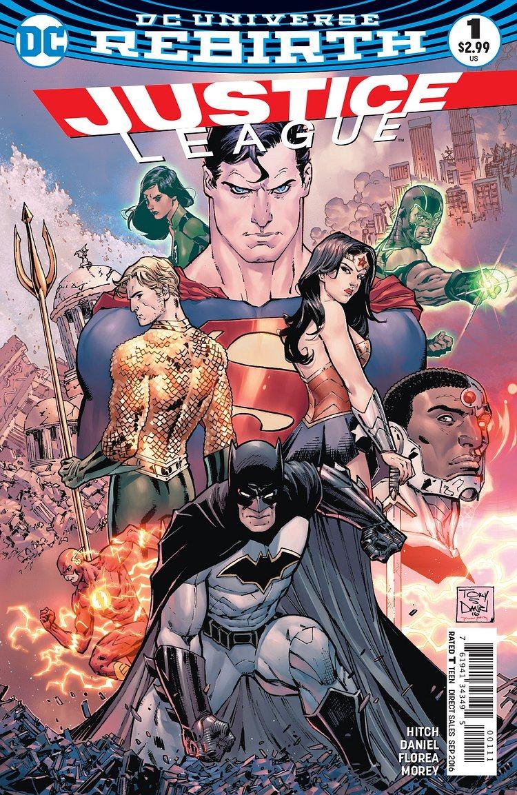Dc Comics Justice League : Preview justice league by hitch daniel florea
