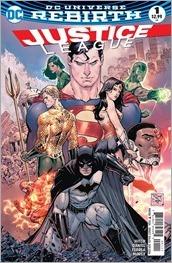 Justice League #1 Cover - Tony S. Daniel & Tomeu Morey