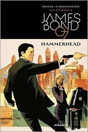 James Bond: Hammerhead #1 Cover A - Francavilla