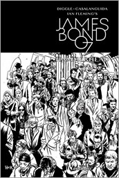 James Bond: Hammerhead #1 Cover - Hack B&W Incentive