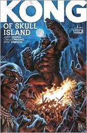 Kong of Skull Island #1 Cover