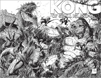 Kong of Skull Island #1 Cover D - Variant
