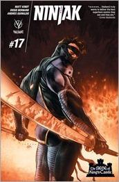 Ninjak #17 Cover A - LaRosa