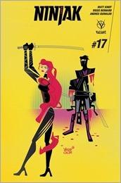 Ninjak #17 Cover - Veregge Variant