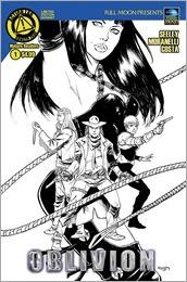 Oblivion #1 Cover C - Seeley Sketch