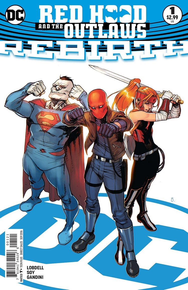 preview  red hood and the outlaws  rebirth  1 by lobdell  u0026 soy