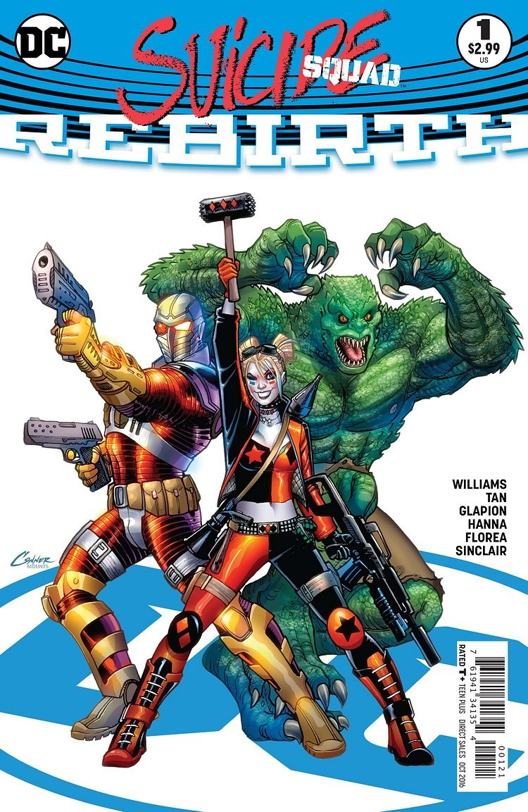 first look at suicide squad  rebirth  1  dc