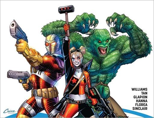 Suicide Squad: Rebirth #1