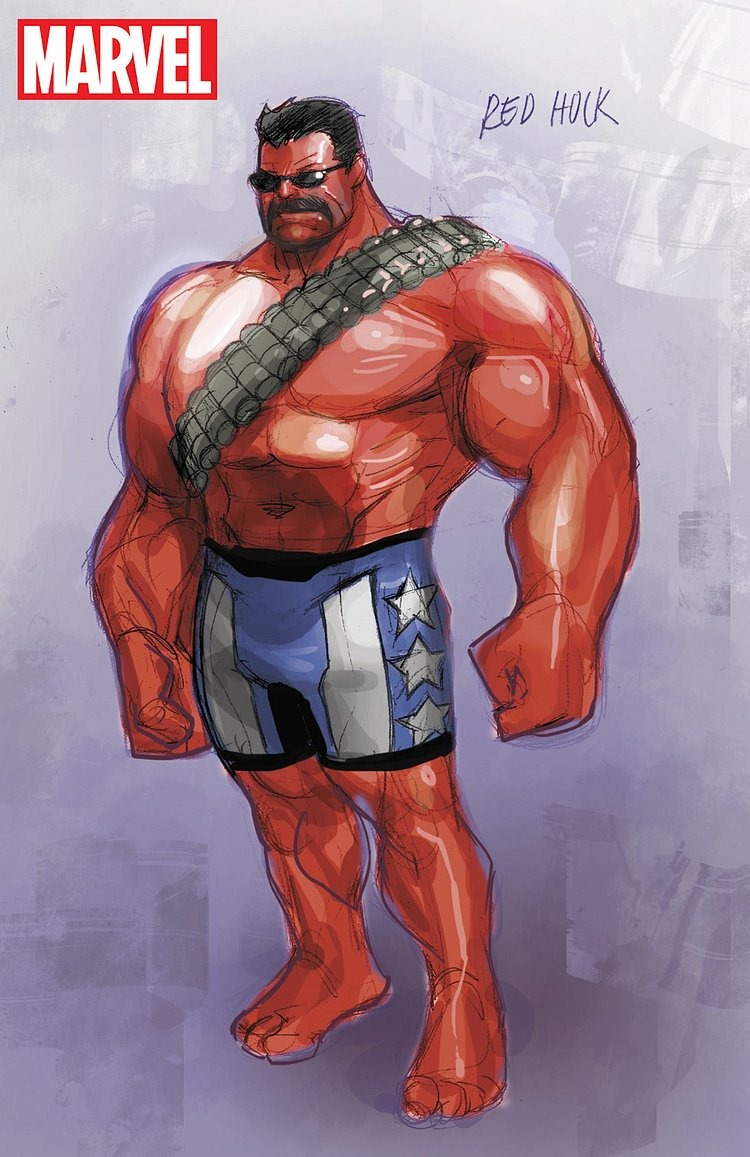 Marvel comics debuts u s avengers this december - Pictures of red hulk ...