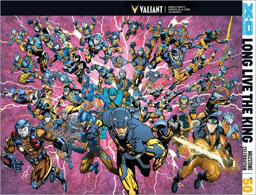 X-O Manowar #50 Cover A - All-Star Jam