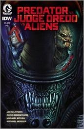 Predator vs. Judge Dredd vs. Aliens #2 Cover