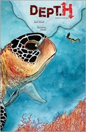 DEPT. H #5 Cover