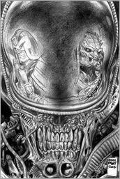 Predator vs. Judge Dredd vs. Aliens #2 Cover - Fabry Variant