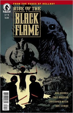Rise of The Black Flame #1 Cover