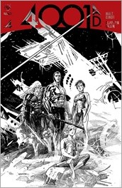 4001 A.D. #4 Cover - Black & White Sook Variant
