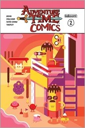 Adventure Time Comics #2 Cover B - Helbetico