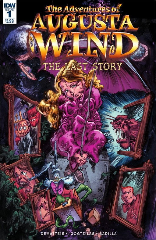 The Adventures of Augusta Wind, Vol. 2: The Last Story #1 Cover