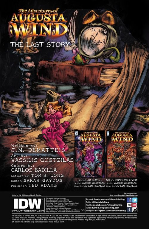 Preview Of The Adventures Augusta Wind Vol 2 Last Story 1