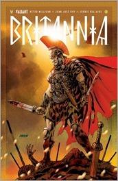 Britannia #1 Cover - Johnson Variant
