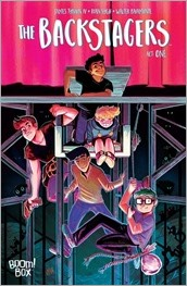 The Backstagers #1 Cover A - Fish