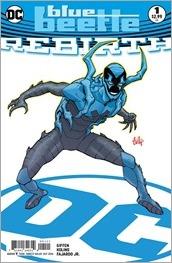 Blue Beetle: Rebirth #1 Cover B - Hamner