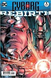 Cyborg: Rebirth #1 Cover - Conrad