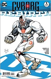 Cyborg: Rebirth #1 Cover - Benitez Variant
