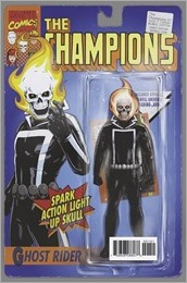Champions #1 Cover - Classic Action Figure Variant