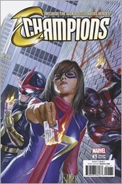 Champions #1 Cover - Ross Variant