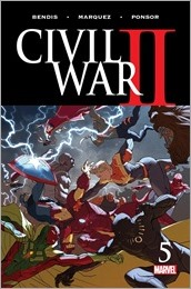 Civil War II #5 Cover