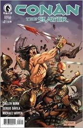 Conan The Slayer #2 Cover