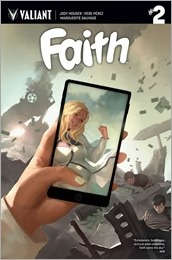 Faith #2 Cover B - Djurdjevic
