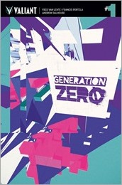 Generation Zero #1 Cover B - Muller