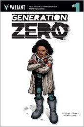 Generation Zero #1 Cover - Guinaldo Design Variant