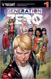Generation Zero #1 Cover - Henry Variant