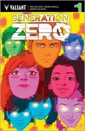 Generation Zero #1 Cover - Kano Variant