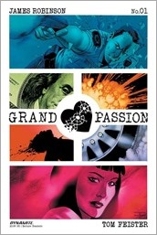 Grand Passion #1 Cover - Cassaday